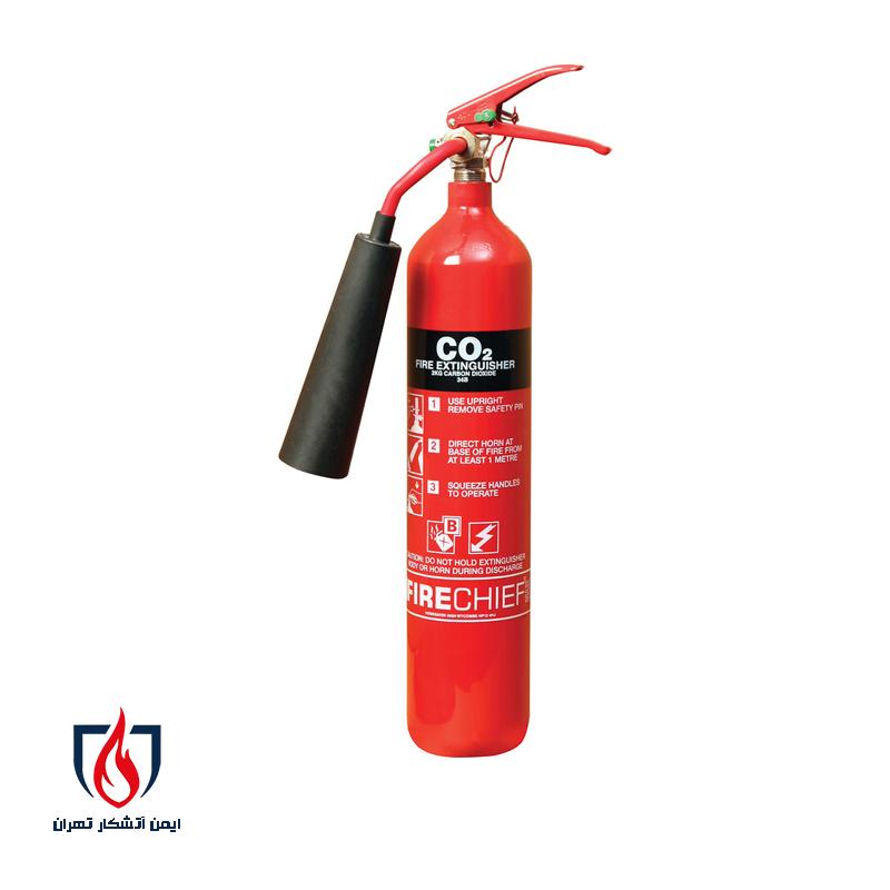 کپسول آتش نشانی کربن دی اکسید Co2