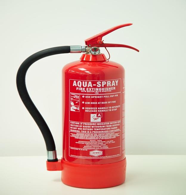کپسول آتش نشانی آب
