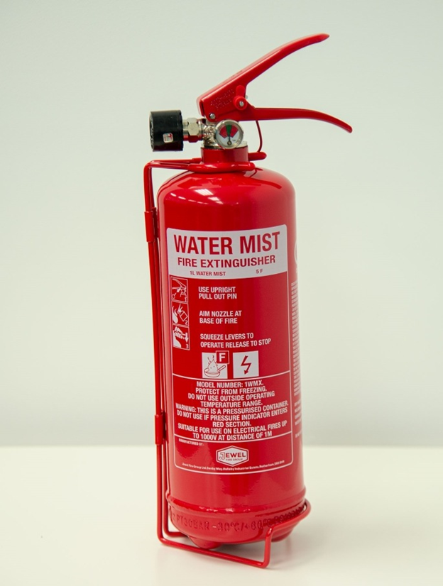 کپسول آتش نشانی غبار آب خشک