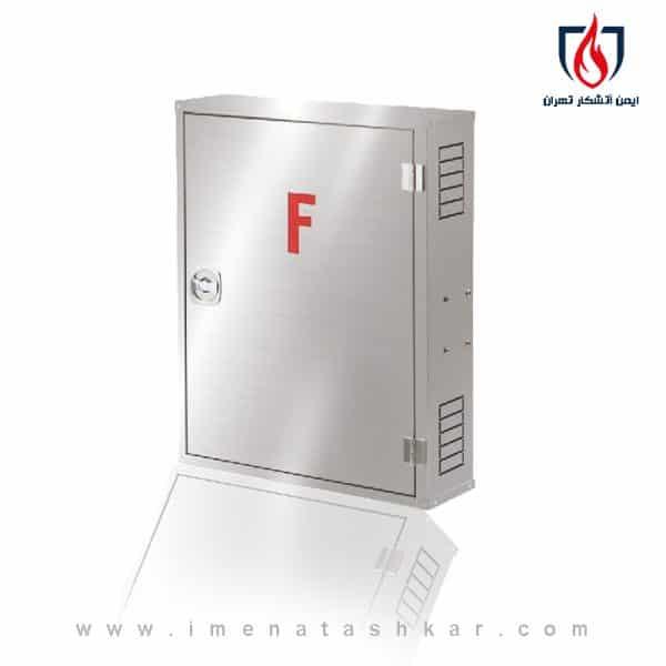 خرید جعبه آتش نشانی تک کابین روکار