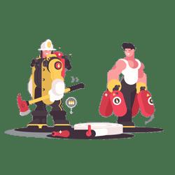 تجهیزات آتش نشانان